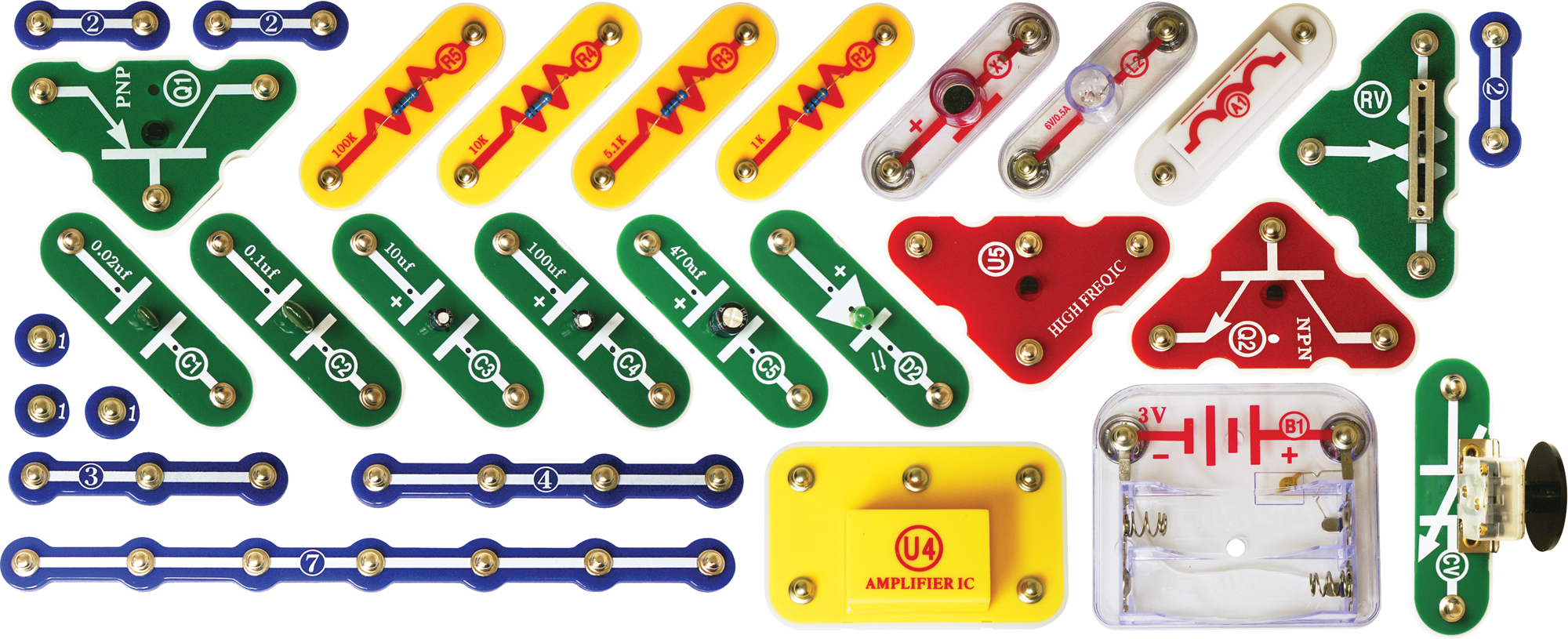 Intro to Electronics with Snap Circuits