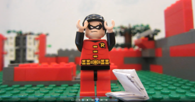 LEGO Stop Motion Animation