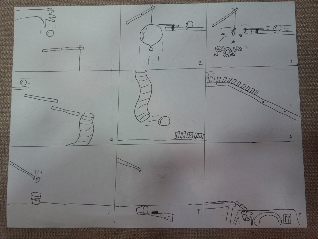 rube goldberg machine plans