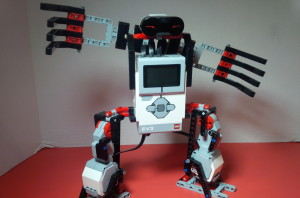 LEGO Mindstorms Basketball Robot