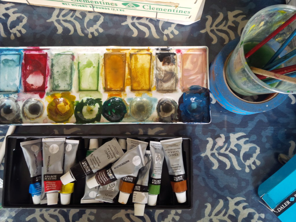 Summer Goals Art Supplies