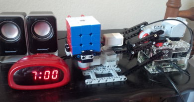 SpeedCuber Alarm Clock