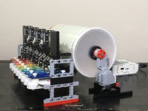 LEGO Mindstorms Music Box Side View