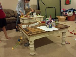 Kids Rube Goldberg Project