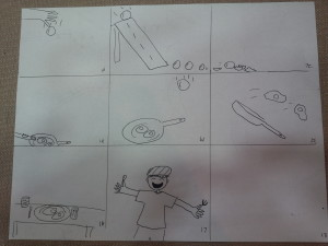 Blueprints for Rube Goldberg Scratch Project