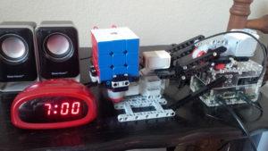 SpeedCuber Alarm Clock
