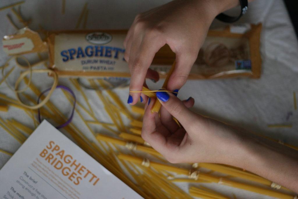 STEM Project Spaghetti Bridge