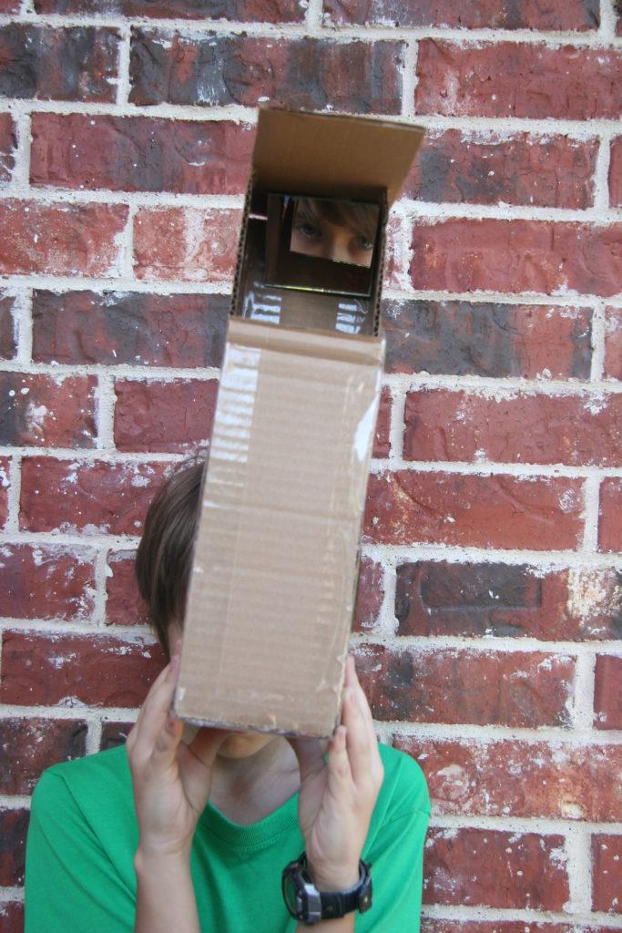 Cardboard Periscope 3