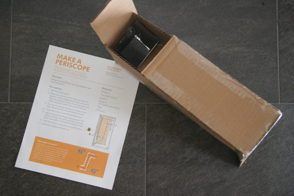 Cardboard Periscope