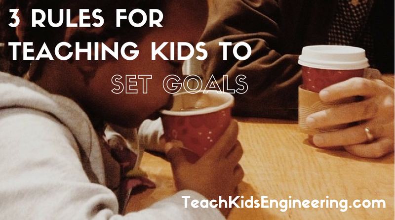 Teaching kids to set goals