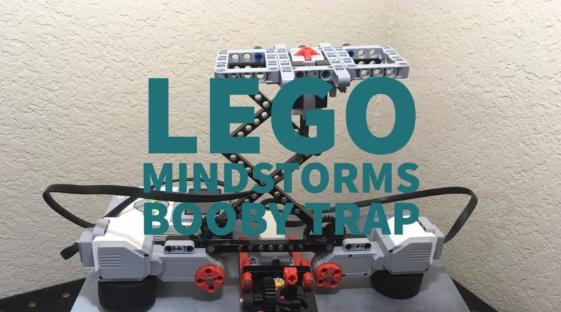 LEGO Mindstorms Booby Trap