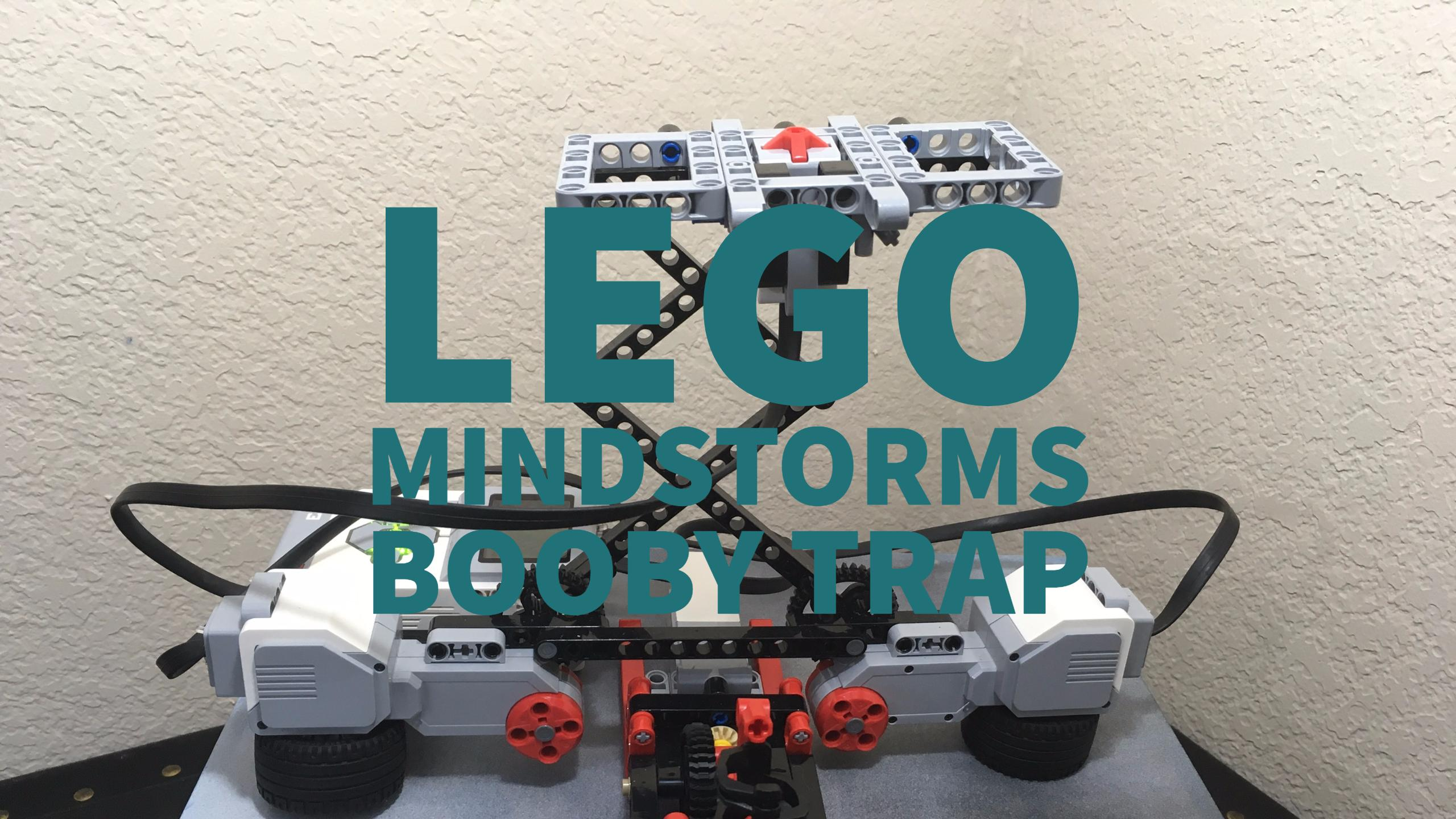 Lego Mindstorms Booby Trap Teach Kids Engineering